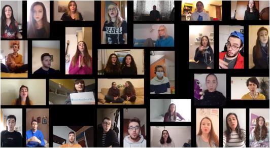 Poslušajte: Studenti obradili poznatu pjesmu u ime podrške zdravstvenim radnicima