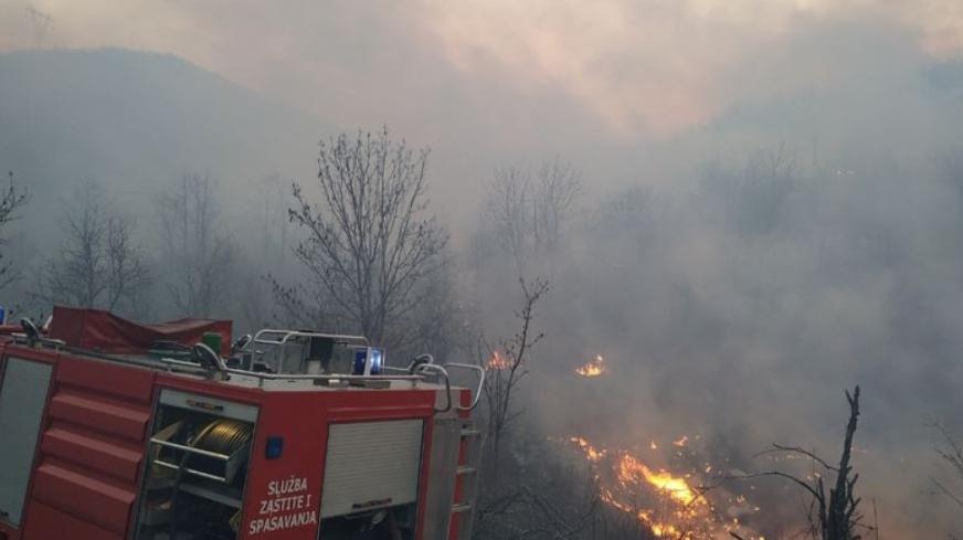 Požar u Župi pod kontrolom