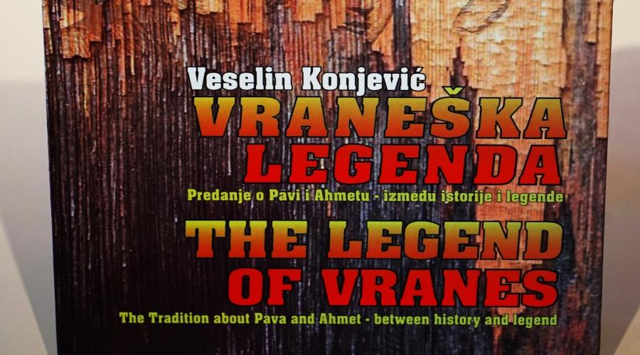 Na sajmu knjiga predstavljena knjiga Vraneška legenda