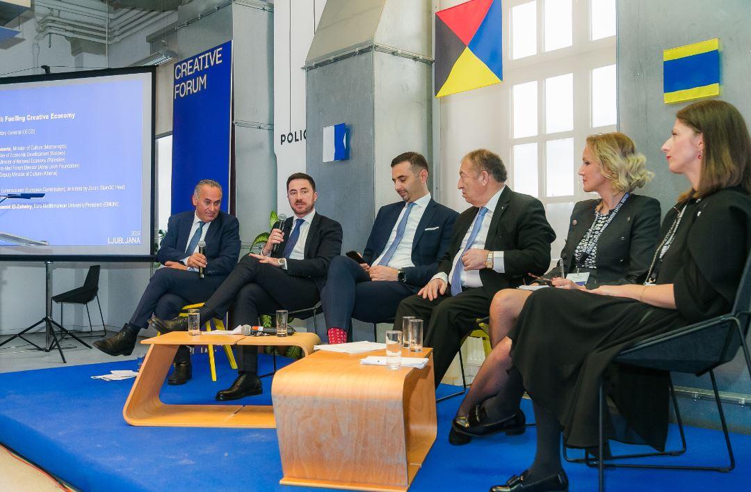Bogdanović učestvovao na Kreativnom forumu u Ljubljani