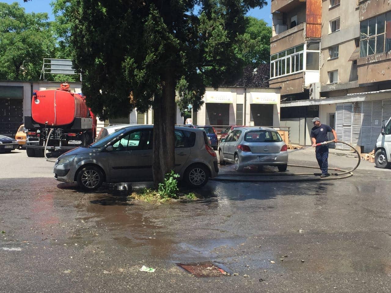 """Nesreća na parkingu ispred škole """"Maksim Gorki"""", jedna osoba stradala"""