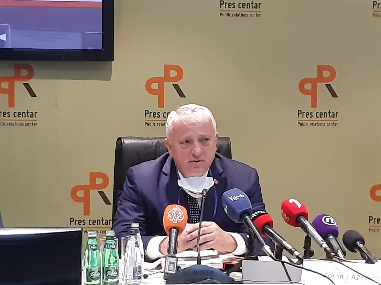 Zoran Lazović: Nije korektno moje kolege nazivati parapolicijskim snagama