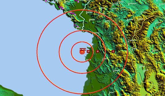 Ponovo zemljotres u Albaniji: 4,8 stepeni, osjetio se i u CG