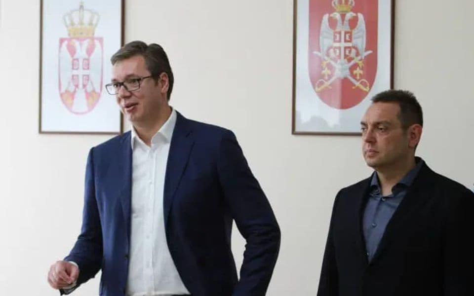 Podnešene krivične prijave protiv Vučića i Vulina