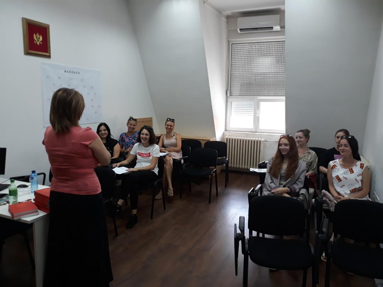 Završena Ljetnja škola crnogorskoga jezika i kulture