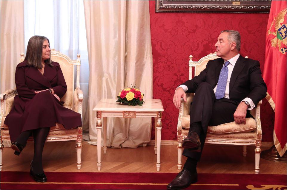 Đukanović sa ambasadorima: Integracija je interes i Evrope i regiona