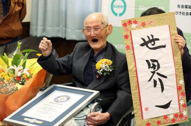 Ovo je zvanično najstariji muškarac na svijetu
