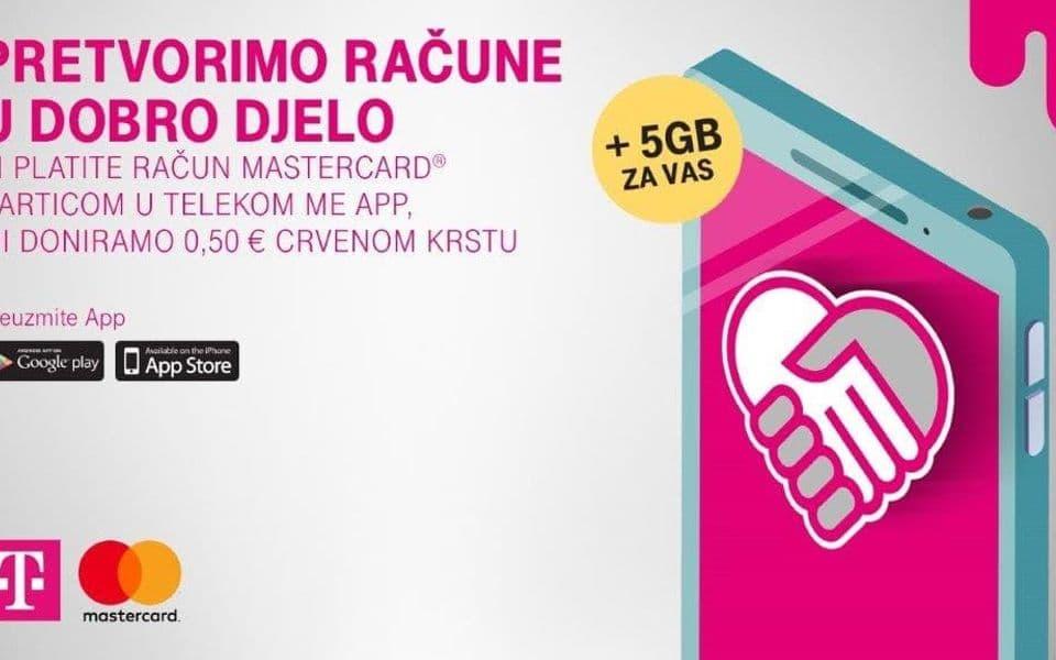 Mastercard i Telekom doniraju Crvenom krstu za program Briga o starijima