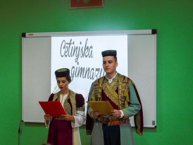 Donirali opremu za multimedijalnu učionicu u cetinjskoj Gimnaziji