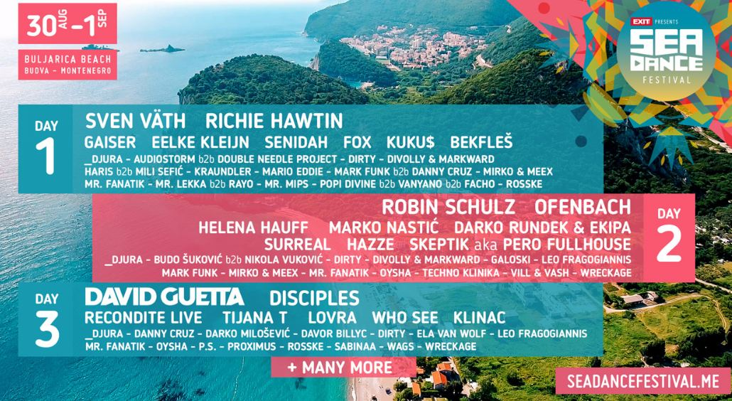 Sea Dance večeras pokreću lideri svjetske elektronske scene!