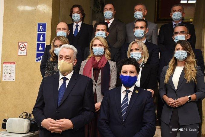 Ovo je sastav 42. Vlade Crne Gore