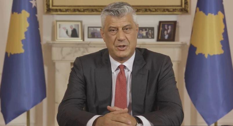Tači se obratio javnosti: Da vratim vrijeme, isto bih uradio za slobodu Kosova