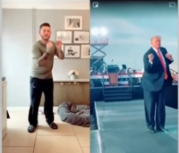 Trampov ples hit na TikToku