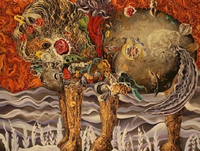 Izložba ''Običan malecki san'' u Baru