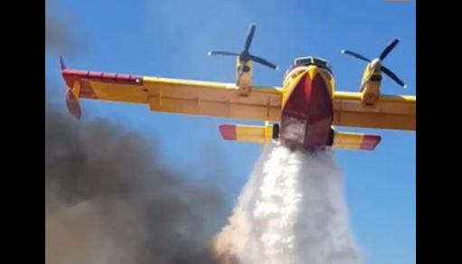 Hrvatska: Kanader išao pravo na vatrogasce, pilot na vrijeme reagovao