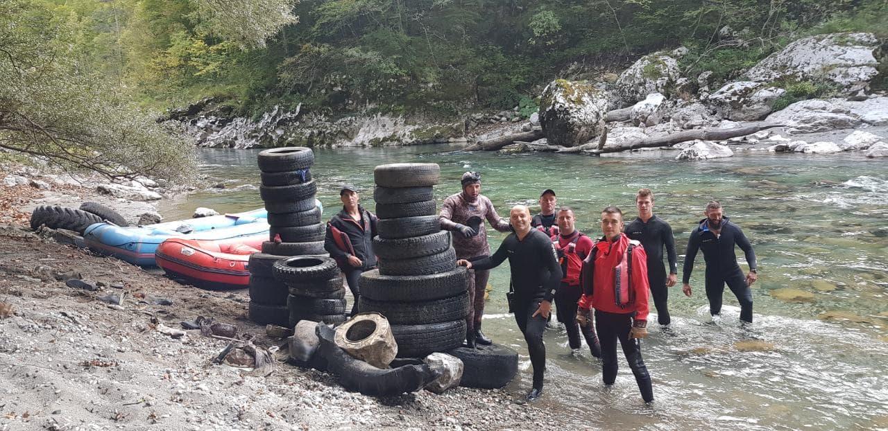 Da Tara opet zablista: Iz rijeke izvađeno oko 200 guma