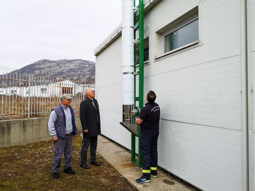 Cetinje: Manji računi s novim sistemom grijanja