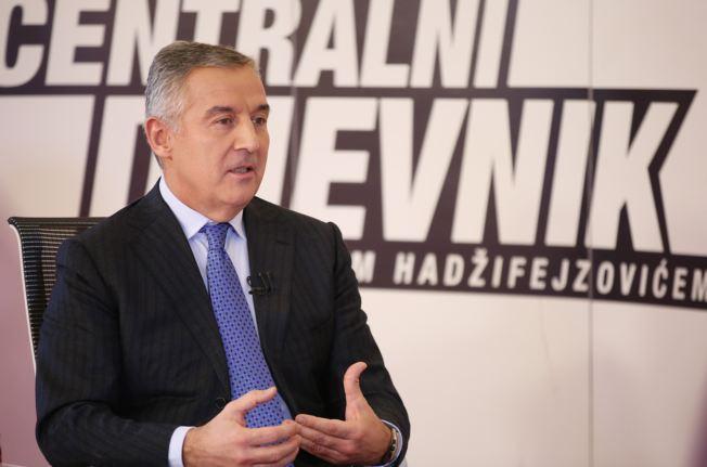 """Đukanović: """"Crnogorski problem"""" dio političkog rata između dva koncepta budućnosti ZB"""