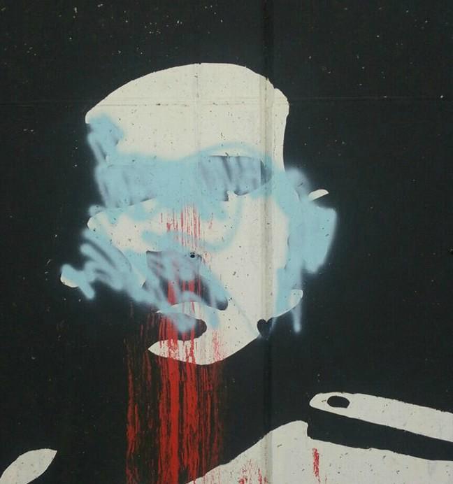 A šta vandali znaju o poštovanju Crne Gore: Dokrajčili Krstov lik!