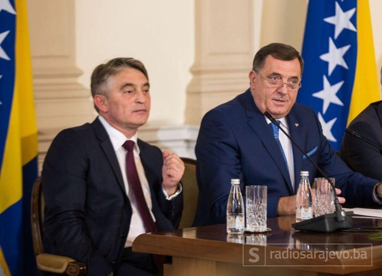 Komšić: Dodik kaže da želi i mir i da rasturi državu - nešto od toga mora odabrati