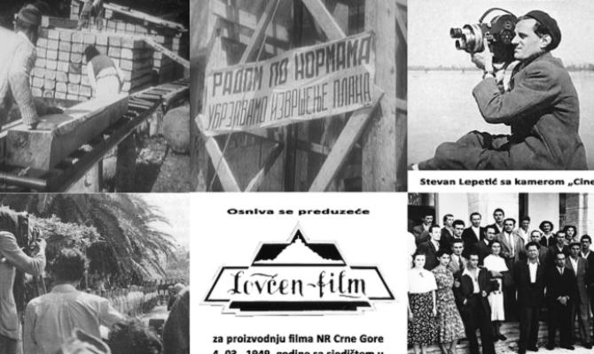 Izložba ''70 godina crnogorske kinematografije''u CNP-u