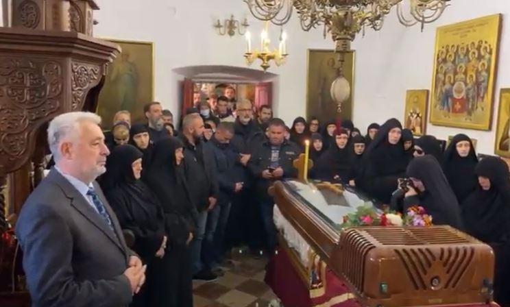 U Cetinjskom manastiru počela zaupokojena liturgija