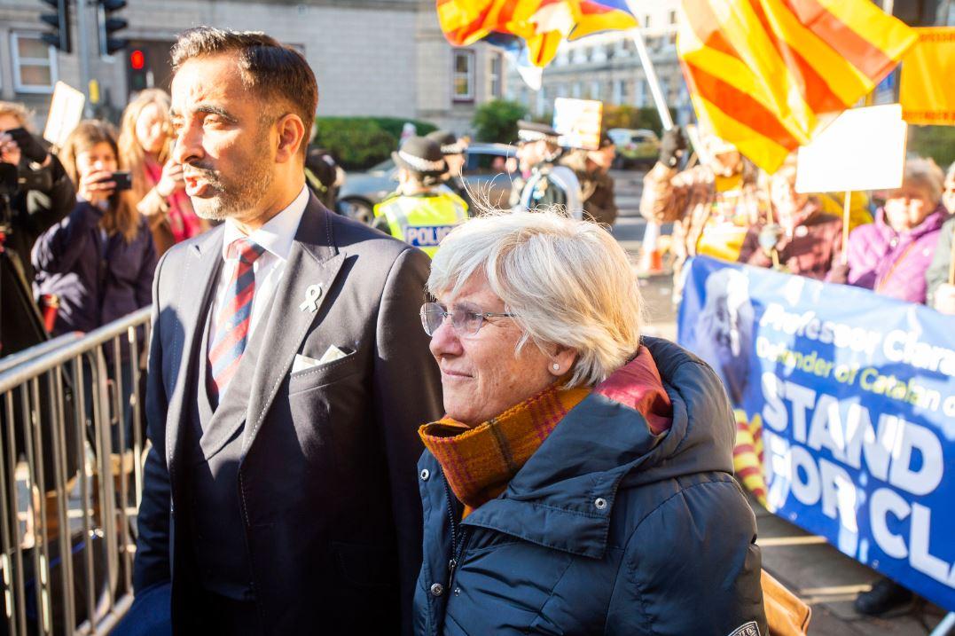Bivša katalonska zvaničnica predala se britanskoj policiji