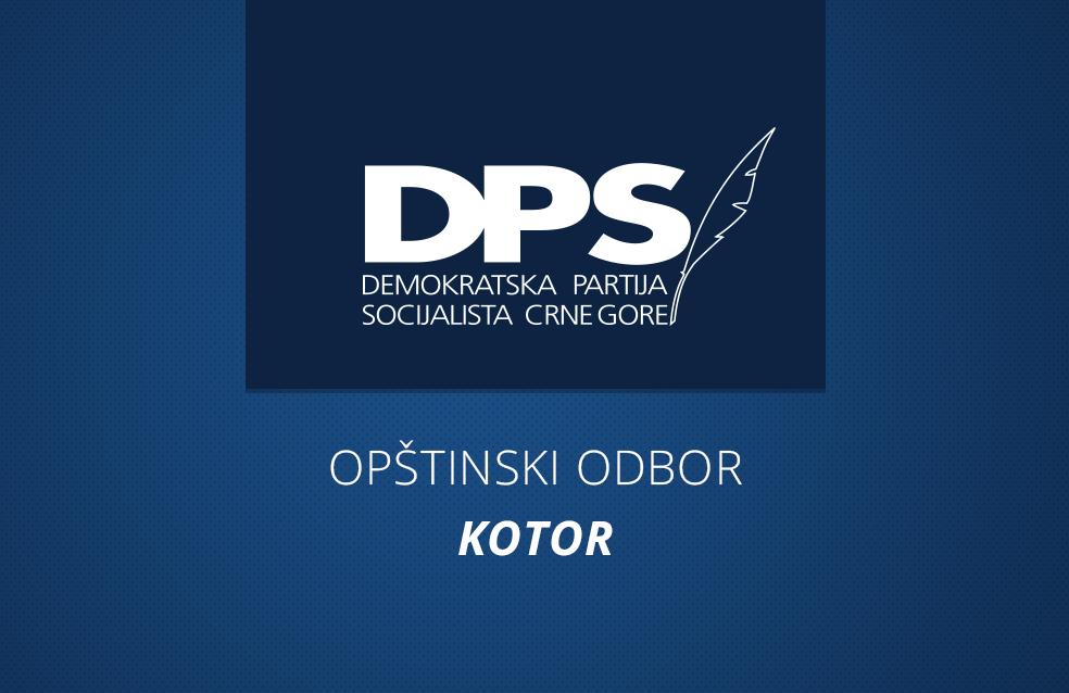 DPS Kotor: Jokić krio dokumenta o finansiranju promocije Demokrata opštinskim novcem