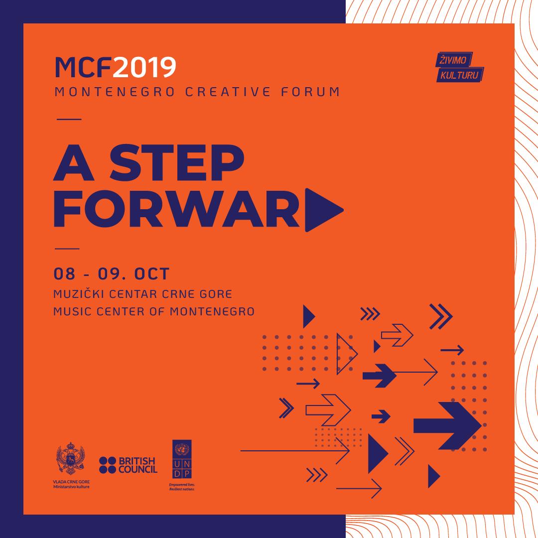 Montenegro Creative Forum A Step Forward 8 I 9 Oktobra U