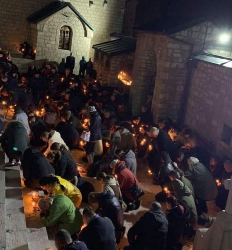 Nema vama litije bez Crnogoraca koji drže do crnogorstva