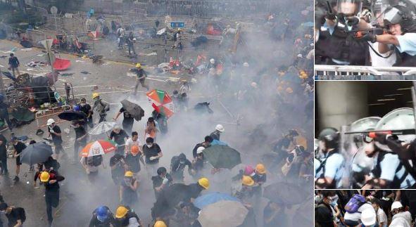Haos u Hong-Kongu: Demonstranti krenuli na Parlament
