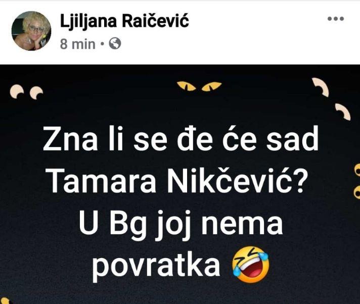 Reagovanje intelektualaca iz regiona i CG: Užasnuti smo pozivom Ljiljane Raičević na linč Tamare Nikčević