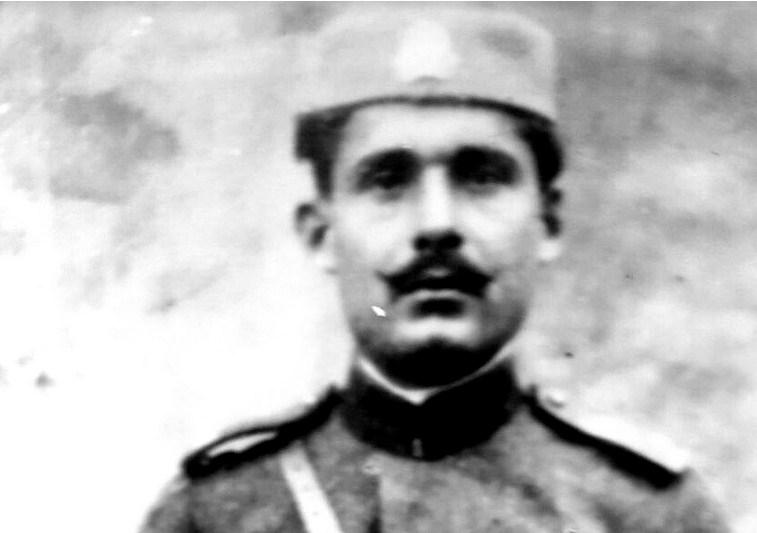 Crnogorski patriota i komita Mihailo Perišin Simović (1897-1924)