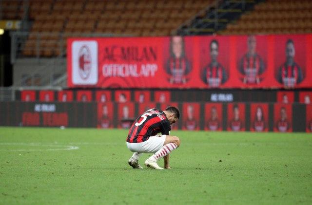 Tužan oproštaj fudbalera Milana