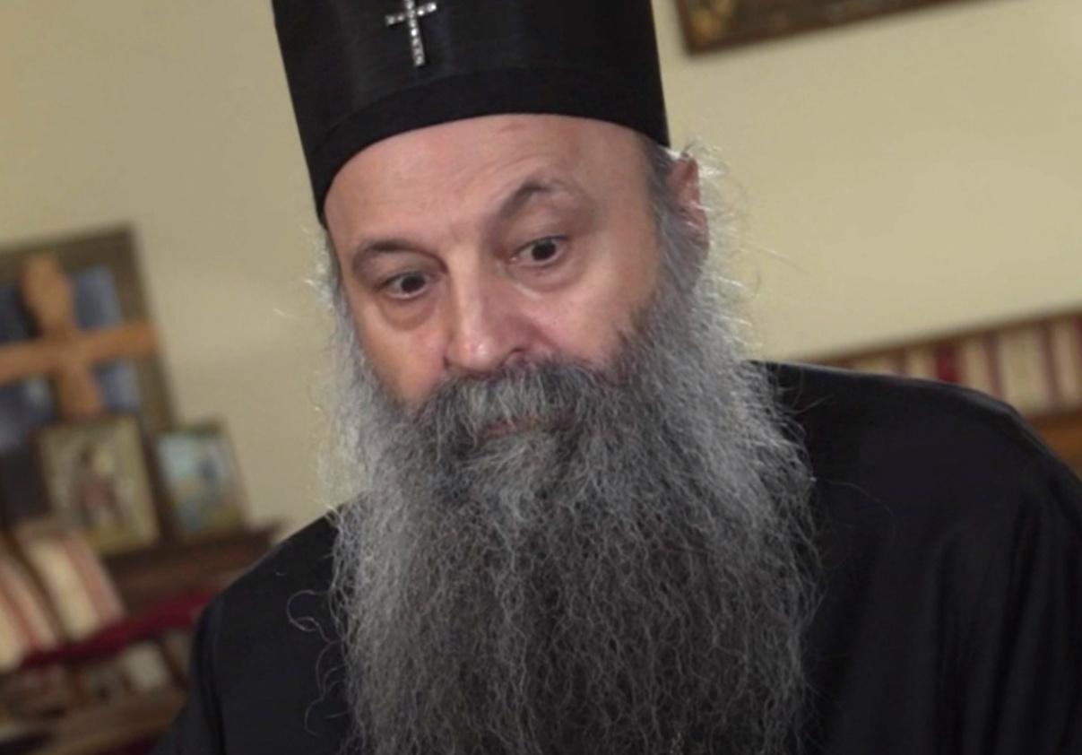 Porfirije traži novi Zakon o slobodi vjeroispovijesti CG