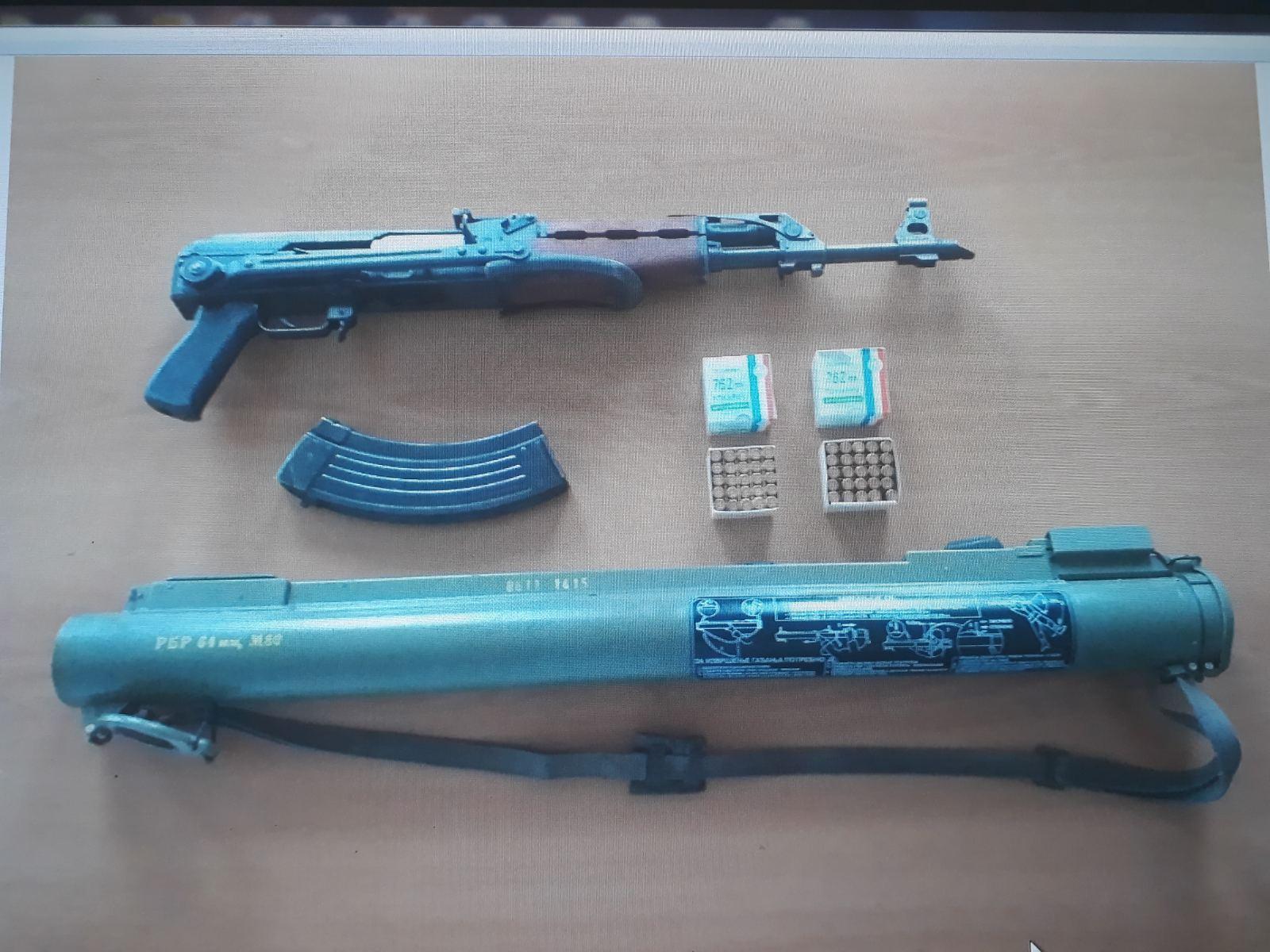 Cetinje: Policija oduzela veću količinu oružja i municije