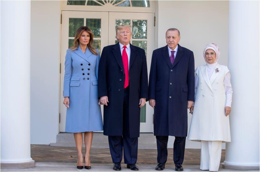 Tramp dočekao Erdogana, mnogi kritikuju susret sa turskim predsjednikom