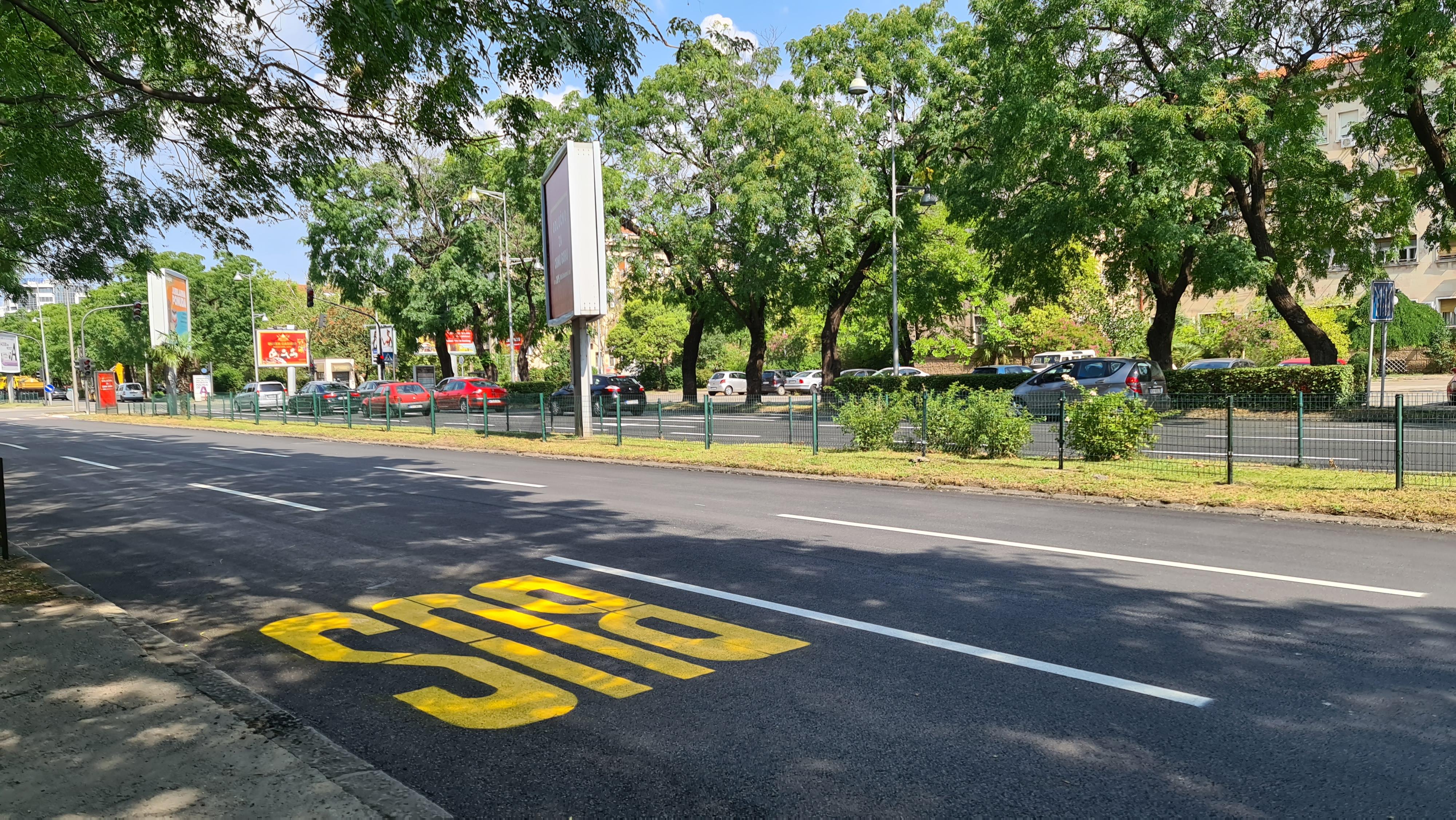 Treća traka na Bulevaru Svetog Petra Cetinjskog uskoro za gradski i taksi prevoz