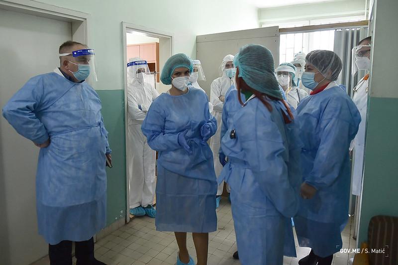 Ministarka zdravlja obišla Berane i Rožaje: Kapaciteti dobri, obezbijedićemo neophodnu opremu