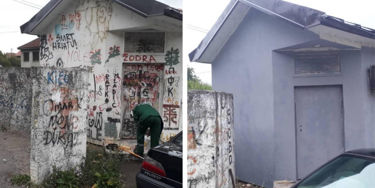 Nema više spornog grafita u Bijelom Polju!