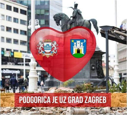 Podgorica je uz Zagreb: Vjerujemo da su bolji dani pred nama