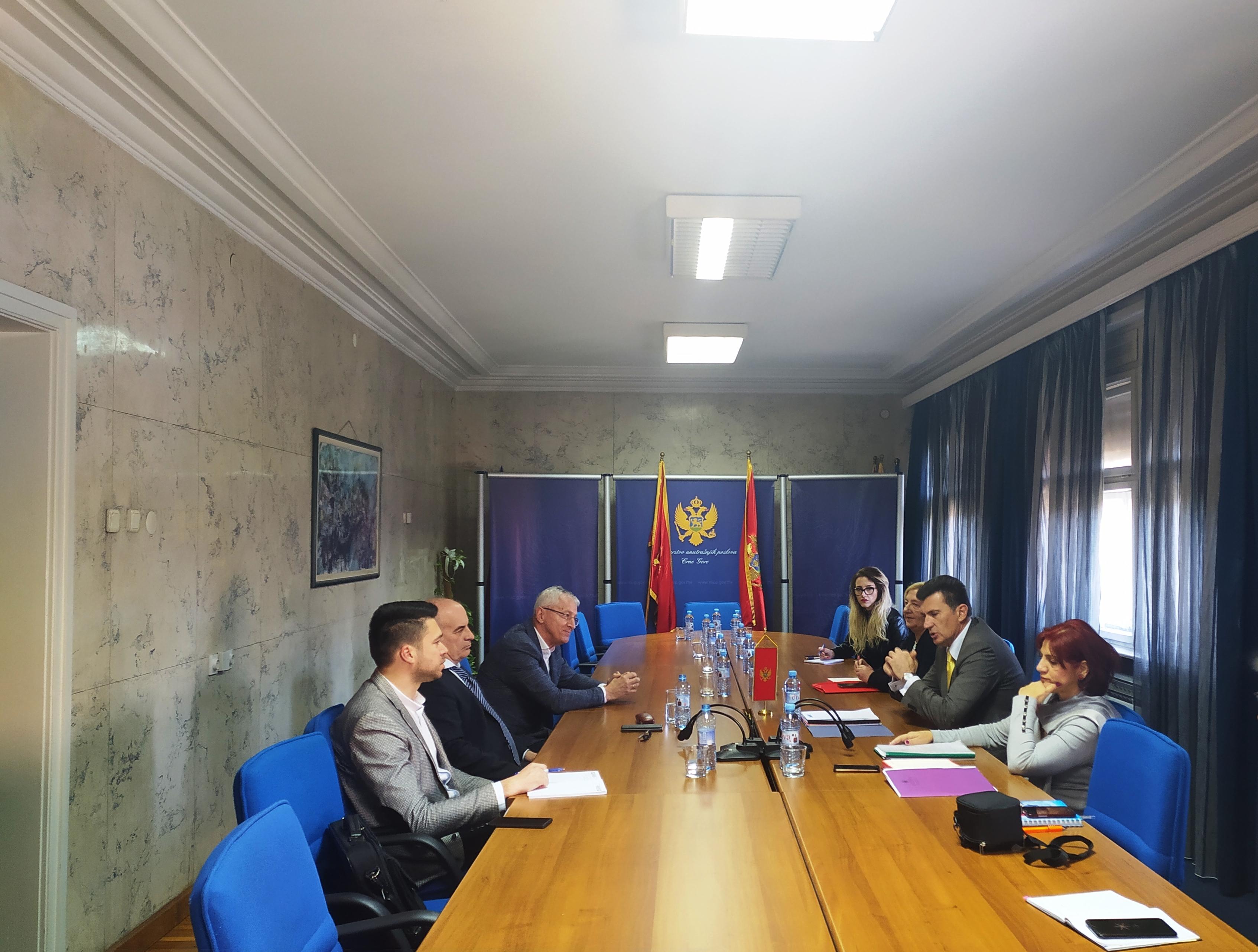 Sastanak predstavnika MUP-a i DIK-a: Saradnjom do kvalitetne realizacije obaveza iz izbornih zakona