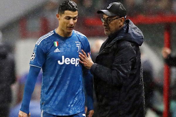 """Sariju stiglo upozorenje: """"Ne kači se sa Ronaldom"""""""