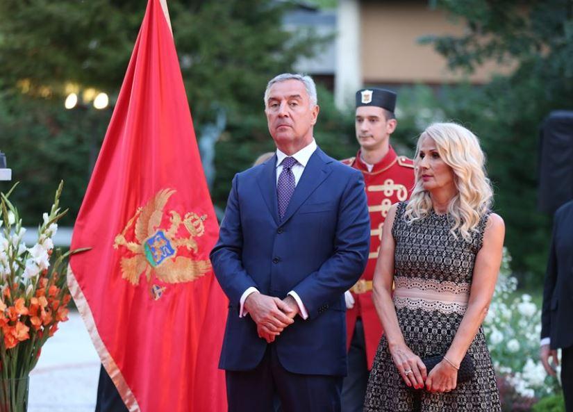 Pogledajte snimke i fotografije sa svečanog prijema na Cetinju