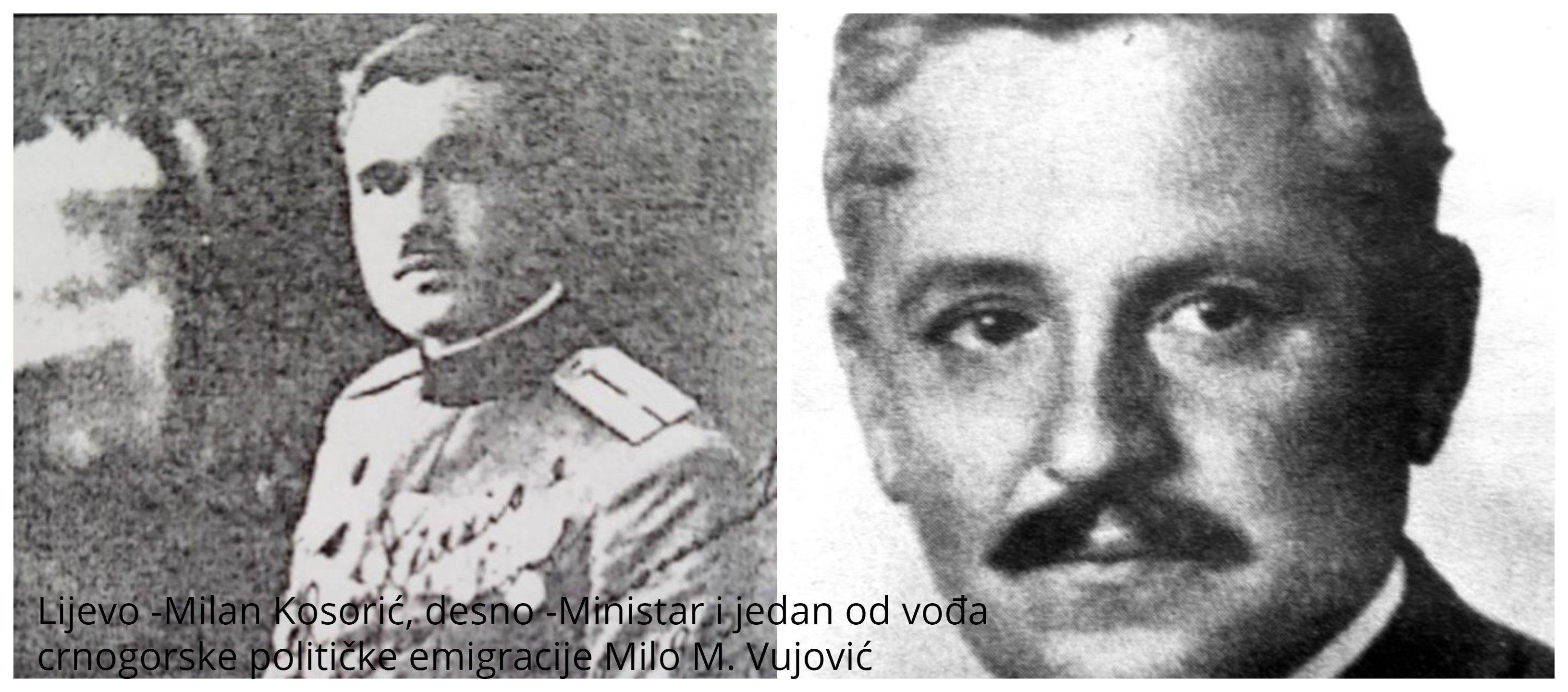 Pismo poručnika Milana M. Kosorića iz Bergama 7. februara 1925. ministru Milu M. Vujoviću u SAD