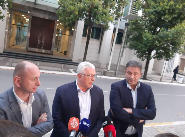 Knežević: Krivokapić optužio Abazovića, Leposavića i mene da stojimo iza namjera rušenja Vlade