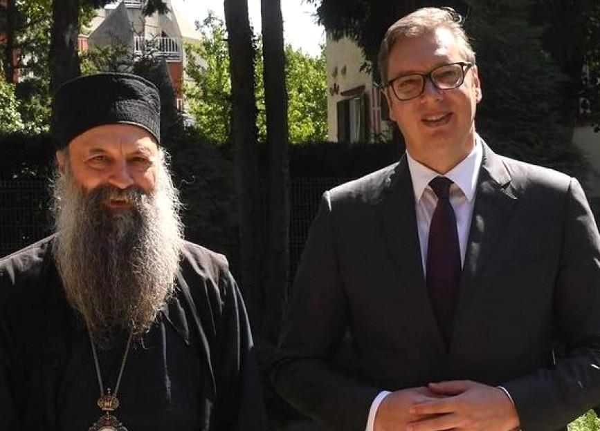 Gagić: Unutar Crkve Srbije zavjera protiv patrijarha, ruše ga u paketu s Vučićem?