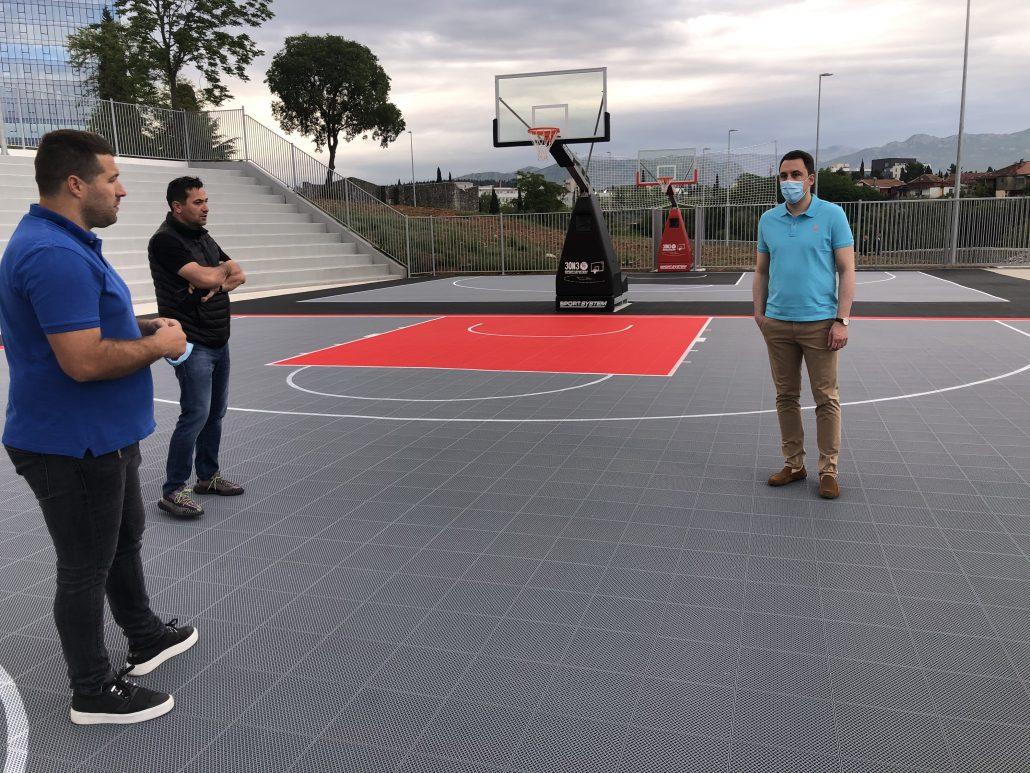 Podgorički rekreativni i profesionalni sportisti dobili i terene za košarku i basket