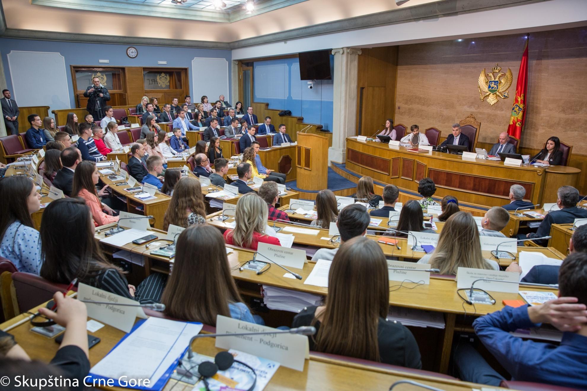 Danas jubilarno zasjedanje Dječjeg parlamenta