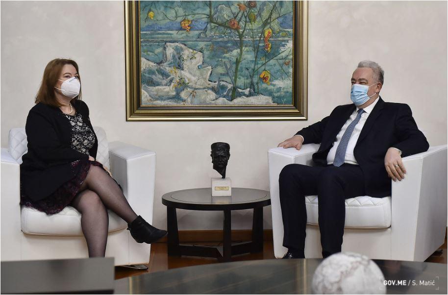 Krivokapić se sastao sa Rajnke: Crnogorsko društvo vapi za istinskim promjenama, ne za pukim kadrovskim rotacijama